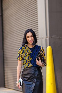 Street Style Pictures From Day 8 of NYFW: Eva Chen
