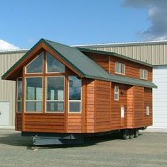 This man builds really nice small cabins on wheels! Large ones! - - To connect with us, and our community of people from Australia and around the world, learning how to live large in small places, visit us at www.Facebook.com/TinyHousesAustralia