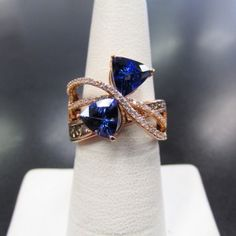 LeVian Tanzanite and Diamond Ring ONLY $1,995.00 Retail is over $4,000 for this beauty
