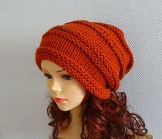 Knit Hat Slouchy women hat for Women Knit Slouchy Beanie by Ifonka, $32.00