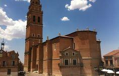 Vistas de San Pedro de Alaejos desde el comedor de en La Puerta Grande