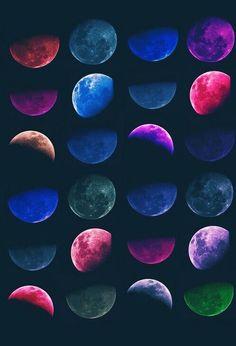 Lunas..                                                                                                                                                     Más