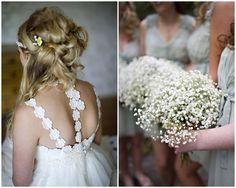 Green, Yellow & Daisy filled Boho Wedding - Bridal Musings Wedding Blog