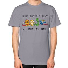 We Run as One Unisex T-Shirt (on man)