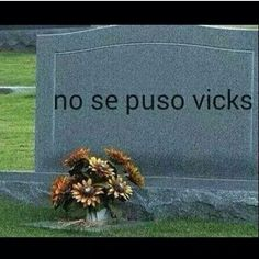 No se puso vicks