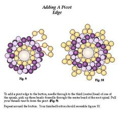 Spiral Button Free Bead Pattern by Karole Conaway Page 3