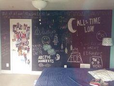 i really want a chalkboard wall