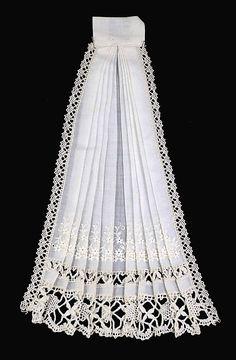 Jabot Date: 1890–99 Culture: American Medium: Linen