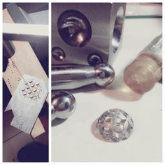 jewellery making, flower domes.