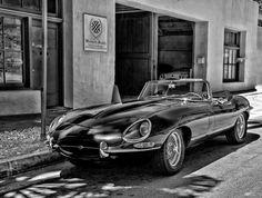 Jaguar XKE by Mel Surdin