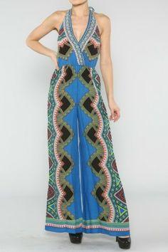 a3fa068daa  salediem  springwardrobe  springdresses  dress  boho Ethnic Halter Jumpsuit