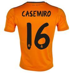 c4a5fbf370700 Casemiro de Camiseta Del Real Madrid Tercera Equipacion 2013 2014