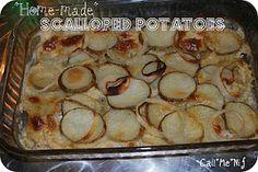 easy scallop potatos