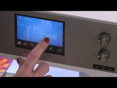 ▶ Free-Motion Quilting with the Bernina Stitch Regulator, Part 3 - YouTube