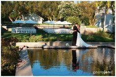 http://socalweddingconsultant.com Southern California Wedding Planner By the reflection pool Richard Nixon Library Wedding Yorba Linda