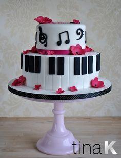 piano cake - Google Search
