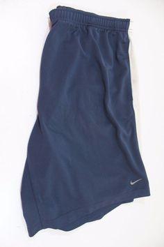 NIKE performance men  shorts (2XL) 100% polyester blue  #Nike