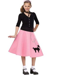 Poodle Skirts | Poodle Skirt Costumes, Patterns, History Kids 50s Poodle Skirt $23.87 AT vintagedancer.com
