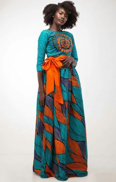 Look at this Classy african trends 5260957576 African Print Dresses, African Wear, African Attire, African Fashion Dresses, African Women, African Dress, Fashion Outfits, Womens Fashion, African Prints