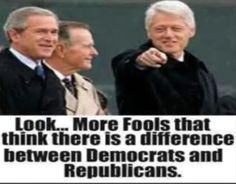 Bill Clinton Democrat vs Republican