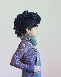 Mohawk hat by Yokoo Gibraan. Awesome
