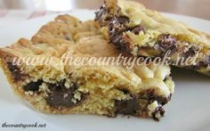 Lazy Cookie Bars: 1 box yellow cake mix, 2 beaten eggs, 5 Tbls of melted butter, 1 pkg chocolate chips - mix together - bake 350 degrees for 20 to 25 mins.