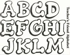 8 Ideas De Moldes De Letras Bonitas Moldes De Letras Bonitas