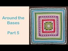 Step-by-step instructions for week 5 of the crochet along 'Around the Bases' designed by ChiChi Allen Sakata. The original pattern can be downloaded from htt...