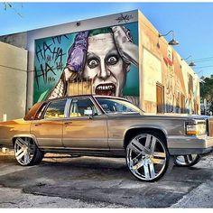 🙌🏿🙌🏿🙌🏿 it's Cadillac day if you got love for them Lacs Double Tap. today is 4 Cadillac riders n lovers Donk Cars, Cadillac Ct6, Cadillac Fleetwood, Big Wheel, Low Rider, All Cars, My Ride, Double Tap, Cars Motorcycles