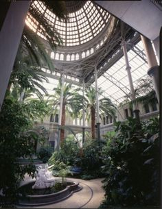 Glyptoteket museum in Denmark-if I won the lottery, I would want one of these in my house!