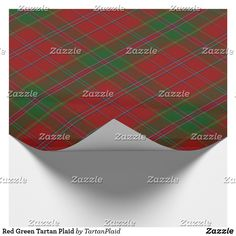 Wrap up your gifts with Tartan wrapping paper from Zazzle. Holiday Gifts, Holiday Cards, Christmas Cards, Gift Wrapping Paper, Tartan Plaid, White Elephant Gifts, Business Supplies, Red Green, Christmas Holidays
