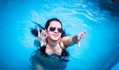 Festa na piscina :)