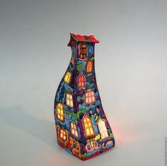 Купить Фанни. Домик - подсвечник. Керамика - керамика ручной работы, подсвечник, ночник, домик, сказка