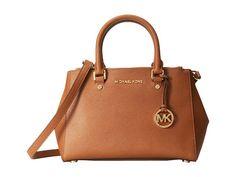Brown Michael Kors satchel I like the large Selma bag for example.