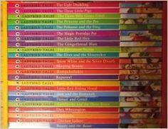 I LOVE these kids' books! Ladybird Tales 23 Books Collection Box Set Pack (Cinderella, Gingerbread Man, Goldilocks & Three Bears, Hansel & Gretel, Jack and the Beanstalk...)