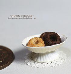 *講座用パフェ皿* - *Nunu's HouseのミニチュアBlog*           1/12サイズのミニチュアの食べ物、雑貨などの制作blogです。
