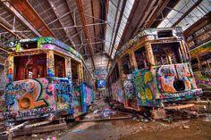 Sydney Abandoned Tram Shed | Flickr - Photo Sharing!