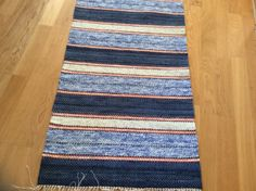 Matta Rag Rugs, Fibre Art, Tear, Recycled Fabric, Woven Rug, Loom, Recycling, Weaving, Textiles