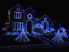 Led Christmas Lights House.30 Best Christmas House Lights Images Christmas House