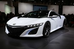 Honda NSX Concept, Vroom, Vroom! Staying true to the original concept, the latest NSX has a low, wide stance with dynamic proportions, clean surfacing and edgy details.