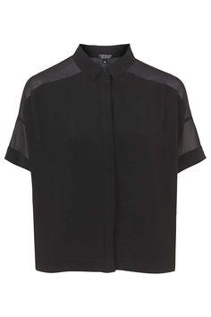 Photo 1 of Chiffon Panel Shirt
