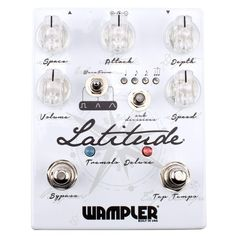 Wampler Latitude Deluxe Tremolo Guitar Effects Pedal (Version Picks Best Acoustic Electric Guitar, Gas Chainsaw, Free Facebook Likes, Guitar Effects Pedals, Machine Design, New Things To Learn, Like4like, Stuff To Buy, Shopping