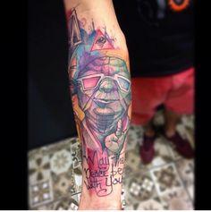 Yoda #yoda #starwars #tattoo #lincoln