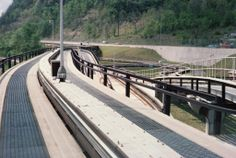 Morgantown guideway #PRT #retrotransportation #advancedtransit