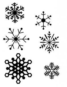 snowflake patterns (for hot glue gun snowflakes) I think I will be decorating my presents with these Snowflake Ornaments, Christmas Snowflakes, Noel Christmas, All Things Christmas, Winter Christmas, Christmas Ornaments, Christmas Stencils, Glass Ornaments, Christmas Birthday