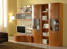 Italian Wall Unit Jazz 008 by Gierre Mobili - $3,459.00