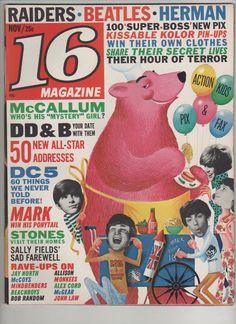 16 Magazine, November 1966