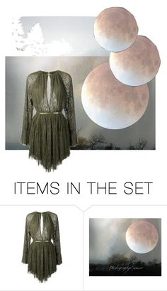 """supermoon"" by kyanite-x ❤ liked on Polyvore featuring art and witch"