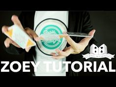 Cardistry for Beginners: Two-handed Cut - Zoey Tutorial - YouTube