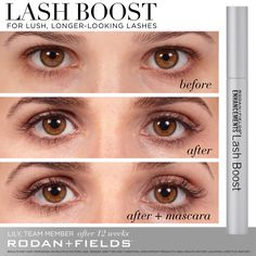 41845040534 Introducing our newest product - Lash Boost! Get lush, longer-looking lashes  in